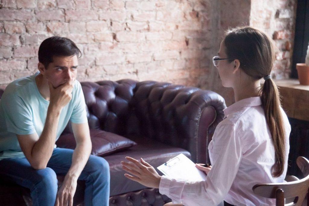 Stacjonarna wizyta u psycholog Katarzyny Stefaniak